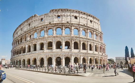 Coliseo de Roma. 20 cosas que saber de Roma.