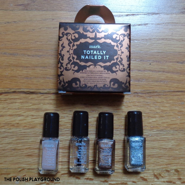 mark. Totally Nailed It Trend Mini Nail Lacquer Set