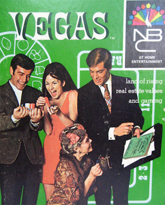 1969 Vegas board game