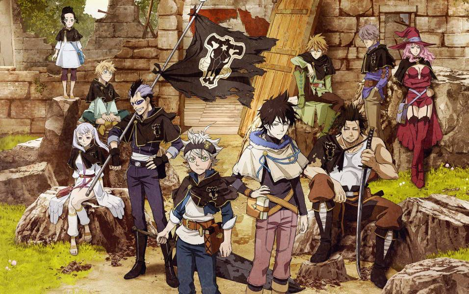 Black Clover Anime Action Terbaik 2017