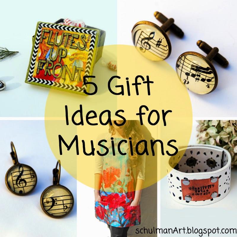 5 Gift Ideas For Musicians Schulman Art