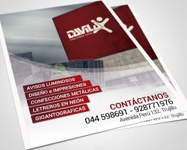 Dávila Publicidad Total - Diseño de Flyers