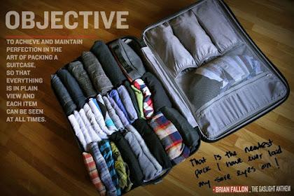 Tips Mengemas Pakaian Ketika Akan Berlibur Atau Melakukan Perjalanan
