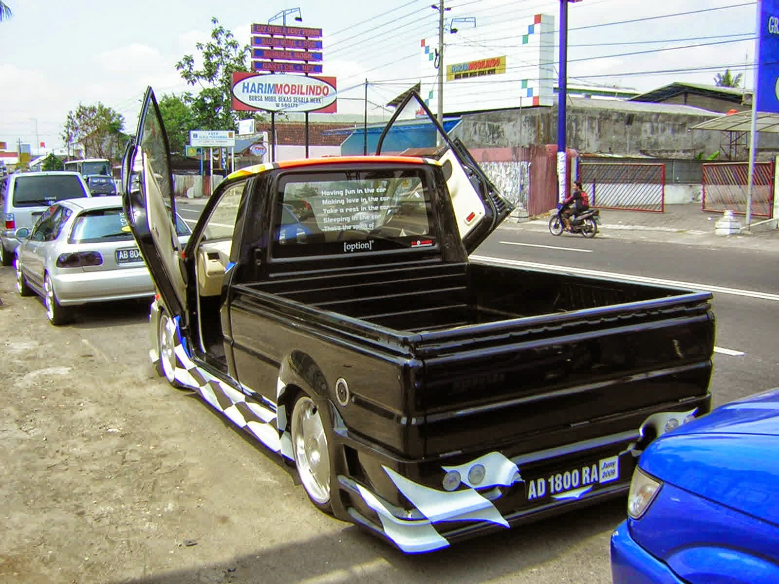 MODIFIKASI L300 PICK UP MALANG - BENGKEL RESTORASI DAN ...
