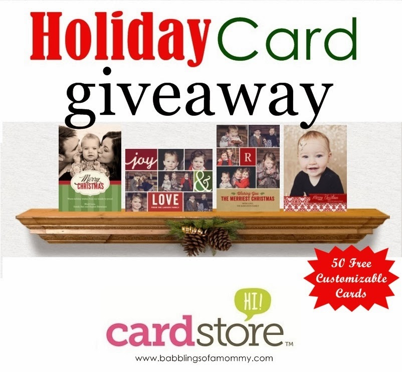 Babblings Of A Mommy: Season's Greetings With CardStore