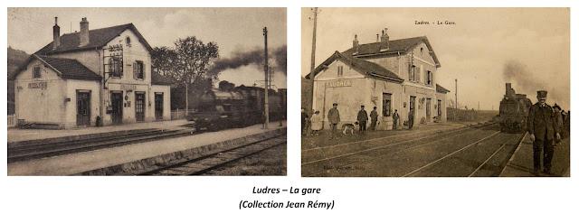 LUDRES (54) - Gare