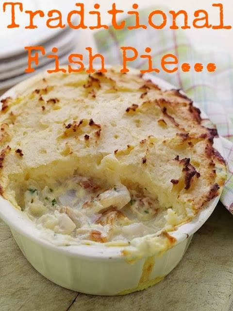 Traditional Fish  Pie: Weekday Dinner Recipes