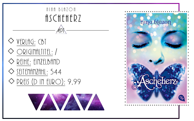 [Rezension] Ascheherz - Nina Blazon