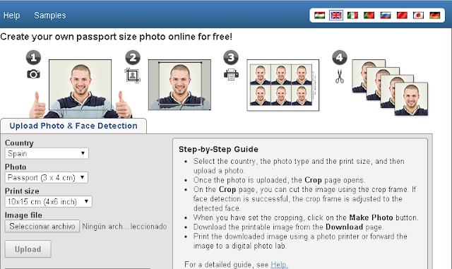 موقع لصنع صور لجواز سفر بسهولة تامة