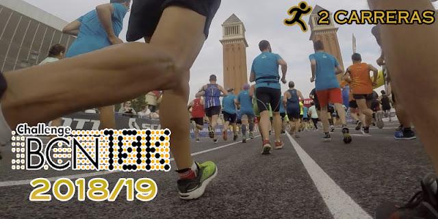 ChallengeBCN10K  2018/19 - 2 carreras