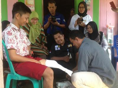 Video Pelajar Minta Kaki Palsu ke Jokowi Jadi Viral, Mensos Gerak Cepat Beri Bantuan - Info Presiden Jokowi Dan Pemerintah
