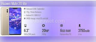 4. Huawei Mate 20 lite