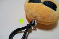 """cool oben: Smakey®2""""mini Emoji Gesicht Express Plüsch Spielzeug Schlüssel Kette Tasche Zubehör Satz von 7"""