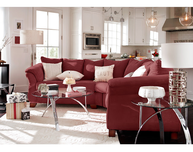 Living Room Sets - The Adrian Sectional Collection