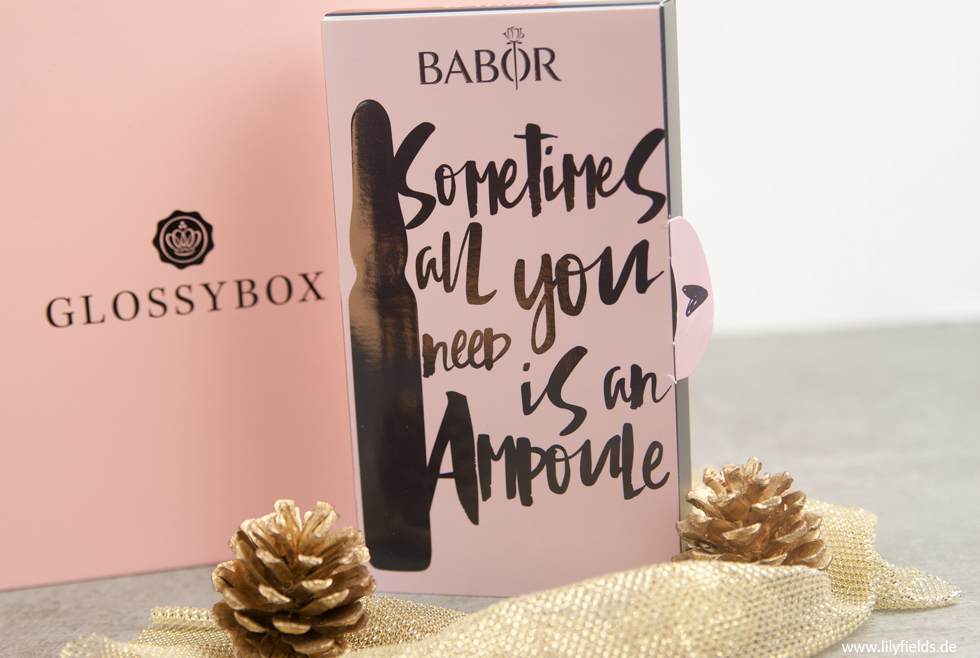 Barbor - Hydra Plus Limited Glossybox Edition