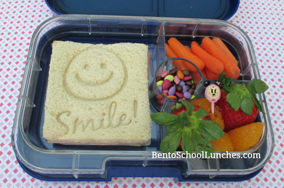 Smile school lunch