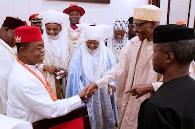 wp 1505197414881 - 9JA NEWS: President Buhari Hosts Top Traditional Rulers of Nigeria