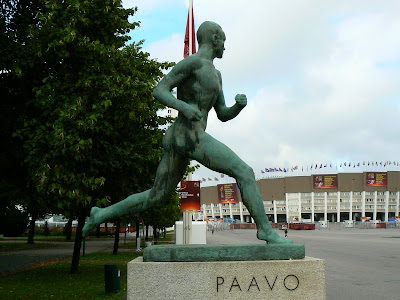 Imagini Finlanda: statuia lui Paavo Nurmi Helsinki