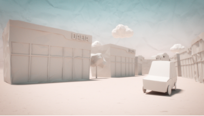 Take a Drive Through a Paper Pop-up City in New Aardman Spot for Dacia