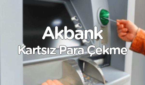 Akbank QR Kodu ile Para Çekme