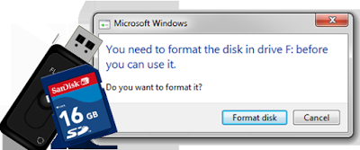Cara mengatasi flasdisk tidak dapat di format