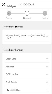 cara bayar althea korea - 2