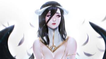 Beautiful, Anime, Girl, Albedo, Overlord, 4K, #6.2206