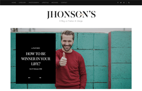Jhonsons Blog Blogger Template