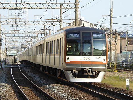 東武東上線 普通 森林公園行き1 東京メトロ10000系