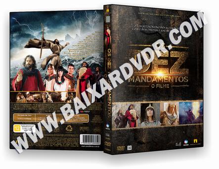 Os Dez Mandamentos – O Filme (2016) DVD-R OFICIAL
