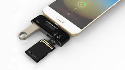 Adaptador USB-C te permite conectar USB, SD y microSD