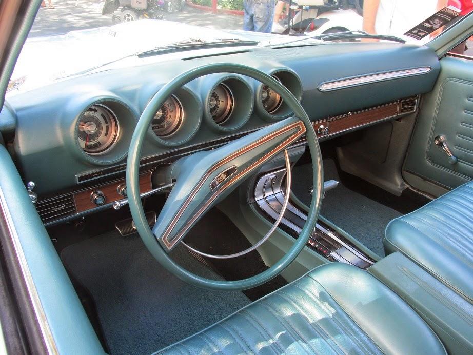 69 ford torino dashboard
