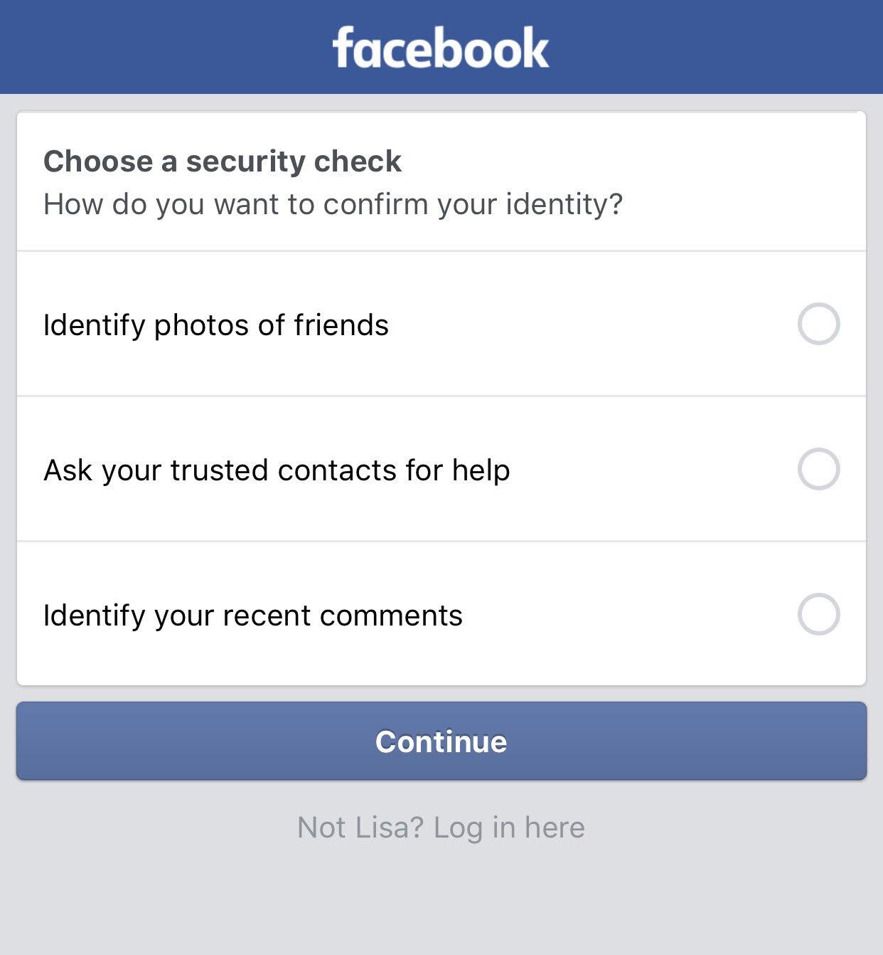 Cara Dapatkan Facebook pabila Temporarily Locked | Cerita Budak Sepet