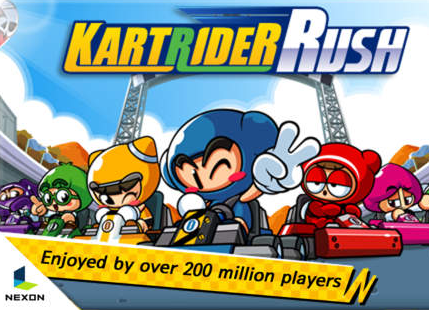 iOS/Android:跑跑卡丁車 APK 下載 ( KartRider Rush APK Download )