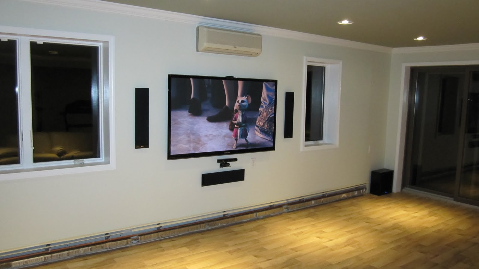 Installation A Home Theater Wiring Modern Design Of Diagram Speakers Www Installyourplasma Com Tv And Hdmi Installing Theatre System