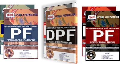 Apostilas da Polícia Federal - ESCRIVÃO DE POLÍCIA FEDERAL DA PF 2018