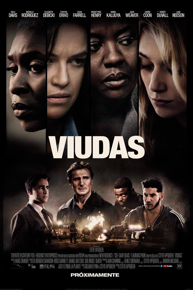 Widows (BRRip 1080p Dual Latino / Ingles) (2018)