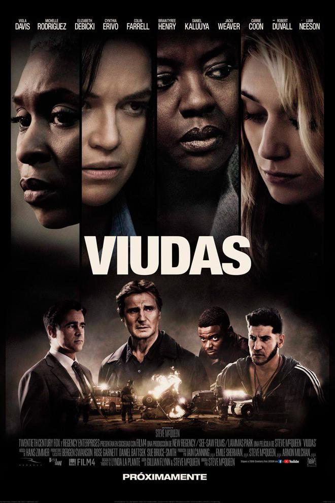 Widows (BRRip 1080p Dual Latino / Ingles) (2018)