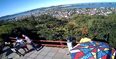 Câmera ao vivo do Mirante da Lagoa em Florianópolis