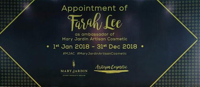 Makeup Simple Farah Lee Ala Korea | Mary Jardin Kelana Jaya Selangor Laviee