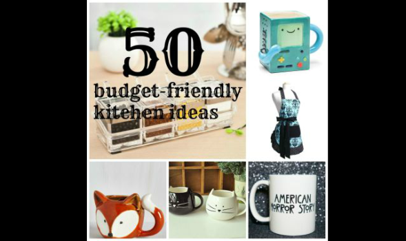 Budget friendly kitchen ideas