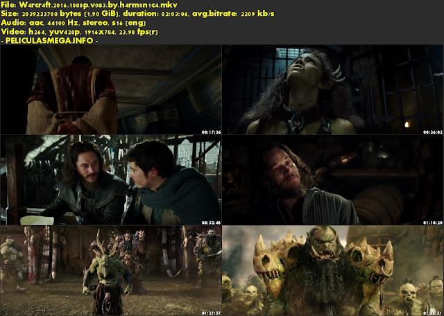 Descargar Warcraft Subtitulado por MEGA.