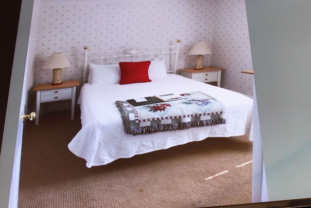how to redecorate a dated bedroom