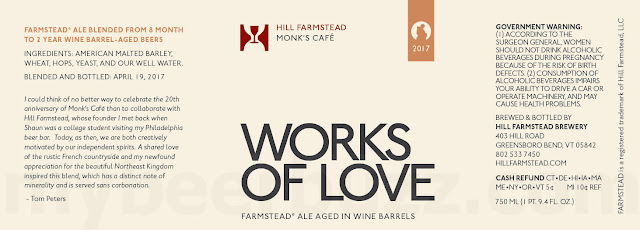 Hill Farmstead & Monk's Café Collaborate On Works Of Love