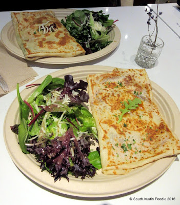Crepe Crazy South Lamar -- savory crepes