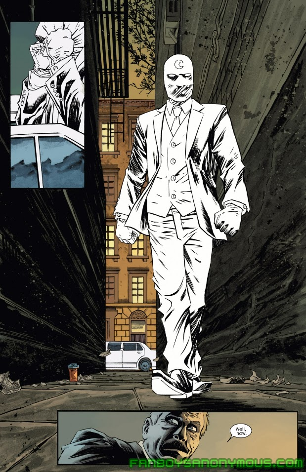 Follow Moon Knight's adventures in the Secret Avengers comic book series