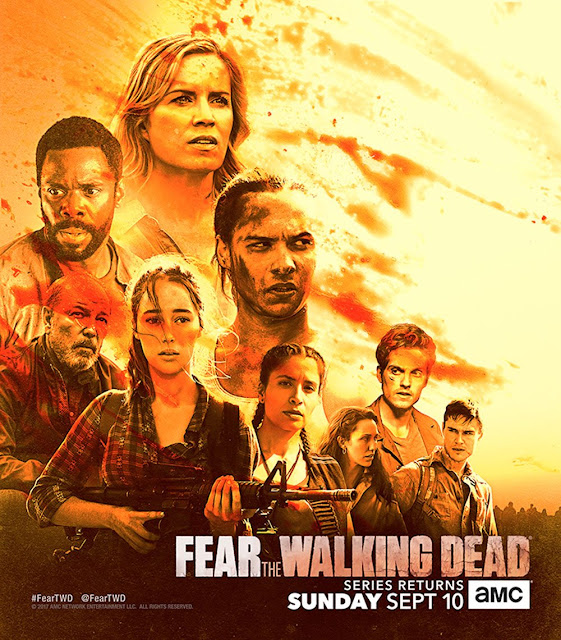 Fear the Walking Dead: il poster della midseason 3 premiere