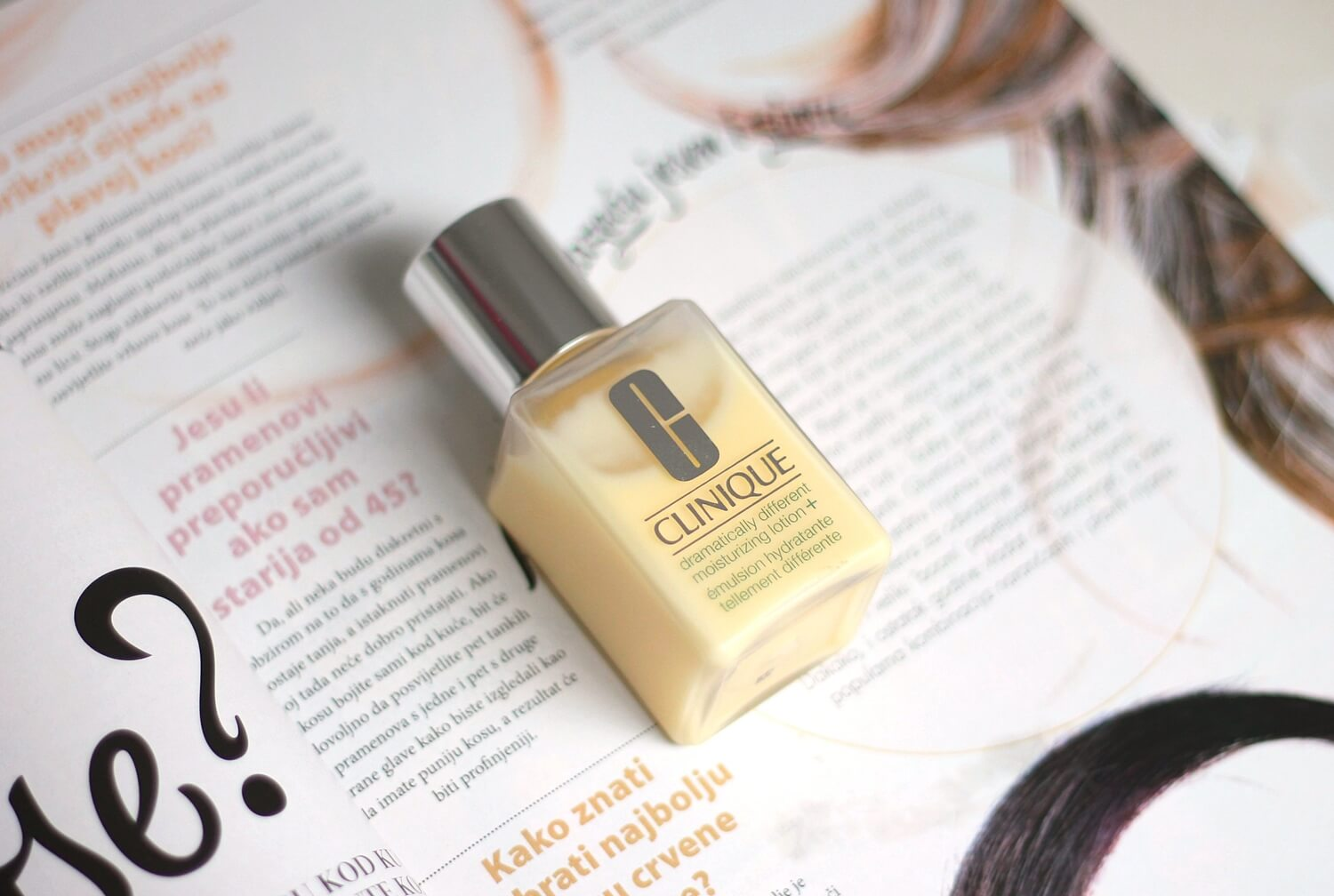 clinique dramatically different moisturizing lotion + review recenzija