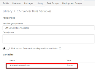 Sitecore CM Server Role Variables