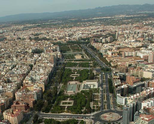 Urban networks el r o que se convirti en parque los jardines del turia en valencia - Jardin del turia valencia ...